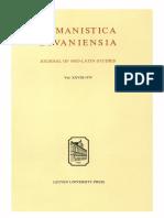 Humanistica Lovaniensia Vol. 28, 1979.pdf