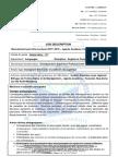 Job Description Forbil (Anglais Et Comptabilité Générale)