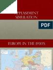 appeasement simulation