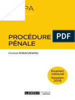 J4L3 (Corrigé) - Procédure pénale