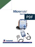 Micromate Operator Manual