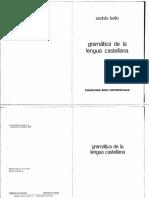 Andrés Bello - Gramática de la lengua castellana.pdf