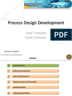 Process Design Development