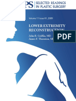 LOWER EXTREMITY RECONSTRUCTION PLASTIC SURGERY