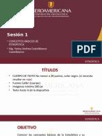 Estadística 1 2017 -2
