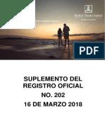 RO# 202 - S Reformar Resolución NAC-DGERCGC16-00000218 que normas para cumplimiento del pago del abono de regalías mineras (16 Mzo.2018).pdf