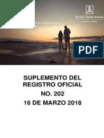 RO# 202 - S Establecer las normas para regular procedimiento para devolución del CT generado por Retenciones en la Fuente del IVA  (16 Mzo. 2018).pdf