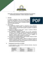 Pautas Generales Para La Aplicacion de La Evaluacion Diagnostica-1