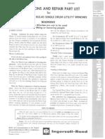 7 HU40 HUL40 Parts Book