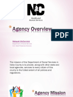 agency overview