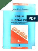 Cristian Florin Popescu-Manual de jurnalism