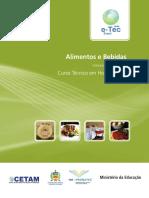 Alimentos e Bebidas COR Capa Ficha 20130511