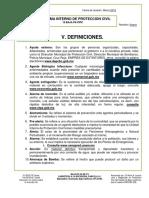 V 8977 Pk Definiciones proteccion civil