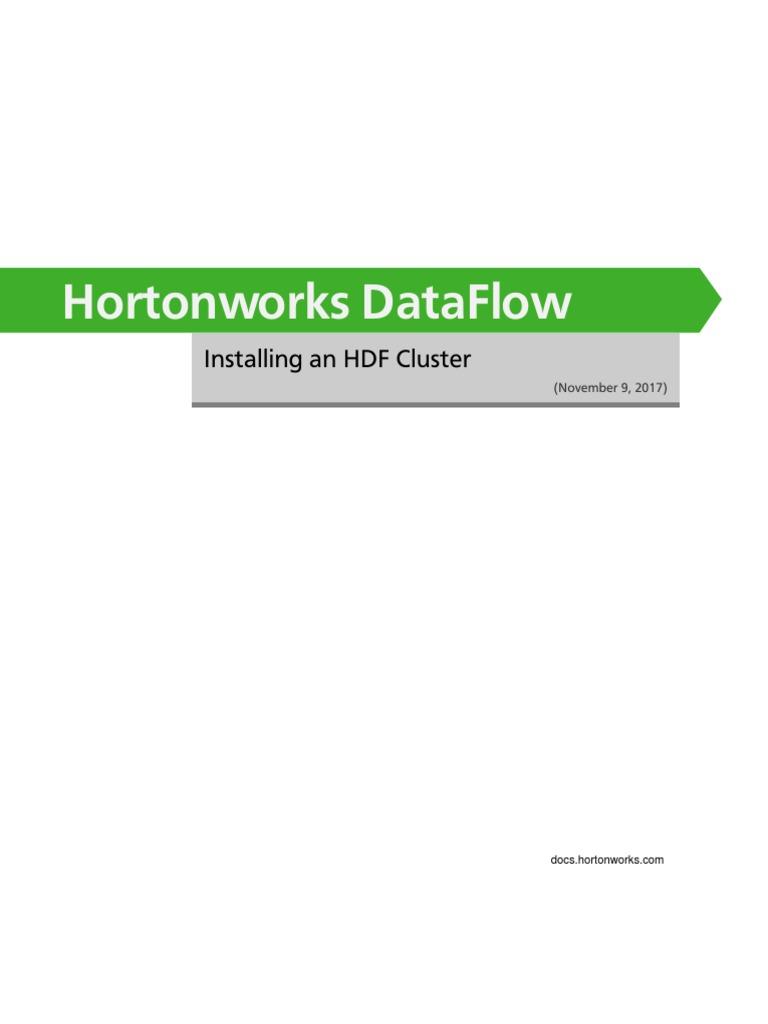 Bk Installing Hdf | Secure Shell | Oracle Database