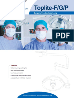 Brochure Surgical Lamps Toplite-F Series En