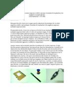 Fabricación casera de circuitos impresos a doble cara