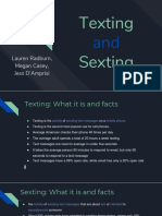 texting and sexting