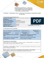 Guía-Paso 2-Expresión de OpinionesDesarrollar Estudio de Caso Dos