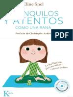 1 Tranquilos y Atentos Como Una Rana La Meditación Para Niños Con Sus Padres