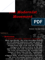 The Modernist Movement