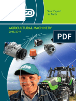 Agricultural Machinery 2018-2019