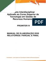 Prointer IV - Manual