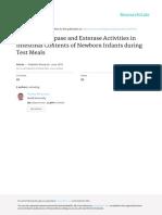 Decrease of Lipase and Esterase Activities in Inte