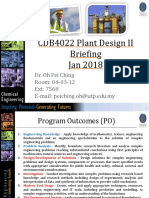 Cdb4022 Pdp II Briefing (Jan 2018)