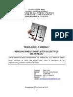 7.Trabajo Gerardo Garcia.negociaciones y Conflicto Colectivo
