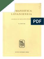 Humanistica Lovaniensia Vol. 35, 1986.pdf