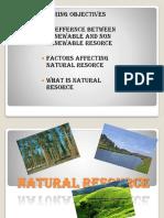 natural resocres