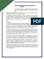 Noticia de La Huelga