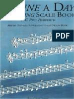 A Tune Day Violino Escala Book.pdf