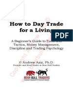Andrew Aziz How to Day Trade for a Living AUDIOBOOK FIGS