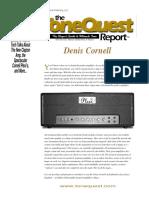 Tone Quest Report 2003