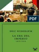 La Era Del Imperio - Eric Hobsbawm