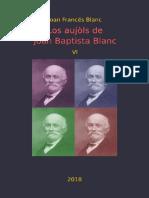 Joan Francés BLANC. Los Aujòls de Joan Baptista Blanc VI