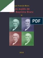 Joan Francés BLANC. Los Aujòls de Joan Baptista Blanc XI