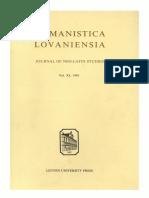 Humanistica Lovaniensia Vol. 40, 1991.pdf
