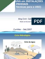 Palestra Uso Reuso Agua Chuva Curitiba