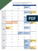 calendario evaluaciones 2018