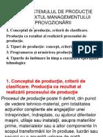 Tema 1. Sistemul de Productie in Contextul Managementului Aprovozionarii