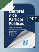 Ley Electoral y de Partidos Políticos, TSE Guatemala
