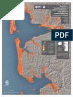 Tsunami Map for Southwest Washington