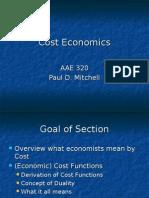 Cost Economics