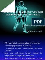 Mr Imaging of Tumor and Tumorlike Lesions Of