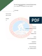 Los Medios de Impugnación en La Etapa Preparatoria e Intermedia Del Proceso Penal Guatemalteco