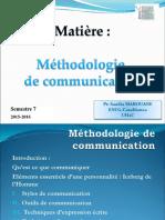 Méthodologie de Communication_S7
