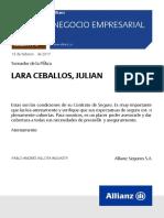 Poliza 22048721 Julian Lara