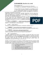 Cours Des Études de Marché Mastère Marketing Et Commerce Int